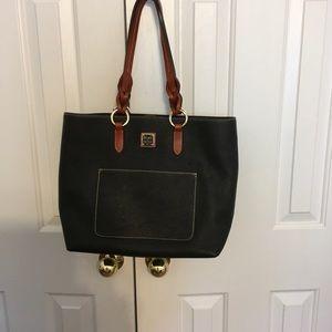 Dooney & Bourke Peeble Leather Pammy Bag